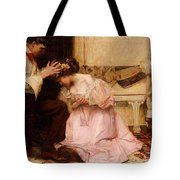 The Two Crowns Tote Bag by Charles Sims