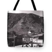 The Upper Village of Calico Ghost Town Tote Bag by Susanne Van Hulst