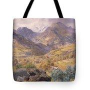 The Val D'aosta Tote Bag by John Brett