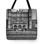 The West Virginia State Penitentiary Front Tote Bag by Dan Friend