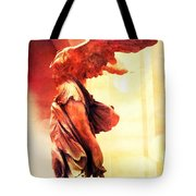 The Winged Victory Tote Bag by Marianna Mills