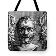 Theophrastus, Ancient Greek Polymath Tote Bag by Photo Researchers