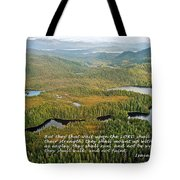 They That Wait 8995 Tote Bag by Michael Peychich