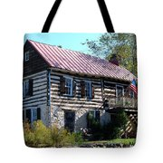 This Old House Tote Bag by Eva Kaufman