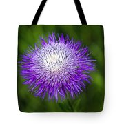 Thistle II Tote Bag by Tamyra Ayles