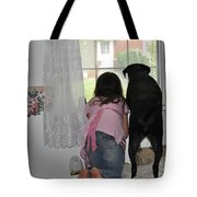 Through The Looking Glass Tote Bag by Paul Ward