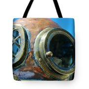 Thru The Peep Hole Tote Bag by Rene Triay Photography