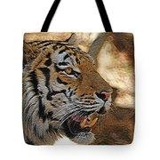 Tiger De Tote Bag by Ernie Echols