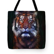 Tiger Tiger Tote Bag by Michelle Wrighton