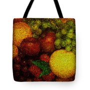 Tiled Fruit  Tote Bag by Mauro Celotti