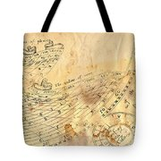 Time - Horoscope Signs Tote Bag by Michal Boubin
