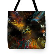 Time Flies Tote Bag by Jeff Breiman
