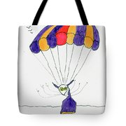 Tis Just Dropping In Tote Bag by Tis Art