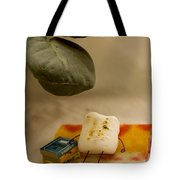 Toasting Tote Bag by Heather Applegate