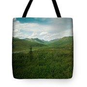Tombstone Mountain Tote Bag by Priska Wettstein