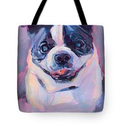 Toothless Tote Bag by Kimberly Santini