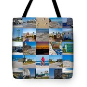 Topsail Visual Contemporary Quilt Series II Tote Bag by Betsy Knapp