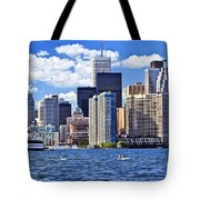 Toronto Waterfront Tote Bag by Elena Elisseeva