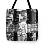 Totems Tote Bag by Chris Dutton
