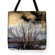 Touch Of Frost Tote Bag by Will Borden