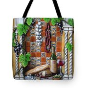 Traditions Tote Bag by Joan Garcia