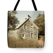 Trapped In Past Tense Tote Bag by Desiree Paquette