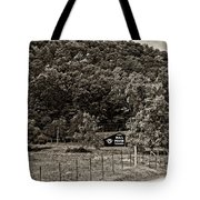 Treat Yourself Sepia Tote Bag by Steve Harrington