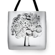 Tree Of Industrial Tote Bag by Setsiri Silapasuwanchai