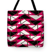 Triangles Tote Bag by Louisa Knight
