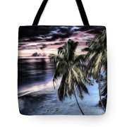 Tropical Evening Tote Bag by Cheryl Young