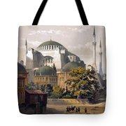 Turkey: Hagia Sophia, 1852 Tote Bag by Granger
