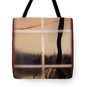 Turn Left At Dawn Tote Bag by Susan Capuano