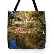 Twiggy Reflections Tote Bag by Pamela Patch