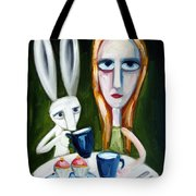 Two Cup Cakes Tote Bag by Leanne Wilkes