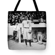Ty Cobb Tote Bag by Bill Cannon