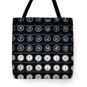 Typewriter Keyboard Tote Bag by Hakon Soreide