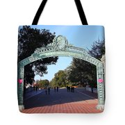 Uc Berkeley . Sproul Plaza . Sather Gate . 7d10033 Tote Bag by Wingsdomain Art and Photography