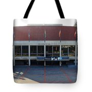 UC Berkeley . Zellerbach Hall . 7D10012 Tote Bag by Wingsdomain Art and Photography