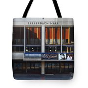 UC Berkeley . Zellerbach Hall . 7D9989 Tote Bag by Wingsdomain Art and Photography