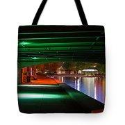 Under The Bridge Tote Bag by Joann Vitali