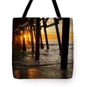 Under The Pier Tote Bag by Athena Lin