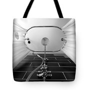 Underneath An Old Style Shower Tote Bag by Simon Bratt Photography LRPS