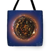 Urban Planet Tote Bag by Elena Elisseeva