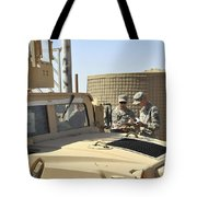 U.s. Army Soldiers Take Accountability Tote Bag by Stocktrek Images
