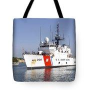 U.s. Coast Guard Cutter Uscgc Seneca Tote Bag by Stocktrek Images