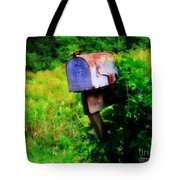 U.s. Mail 2 Tote Bag by Perry Webster