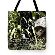 U.s. Marine Maintains Security Tote Bag by Stocktrek Images