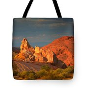 Valley Of Fire - Picturesque Desert Tote Bag by Christine Till