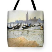 Venice At Dawn Tote Bag by Timothy Easton