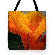 Vibrant Canna Tote Bag by Susan Herber